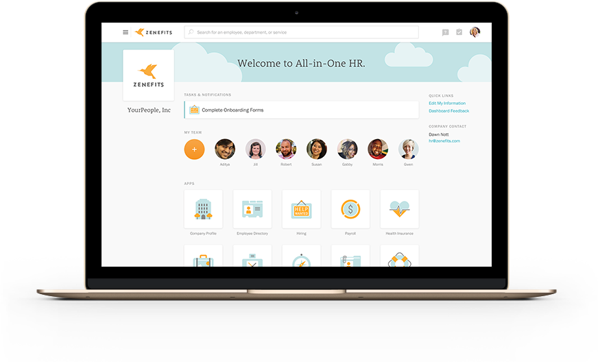 Zenefits HR