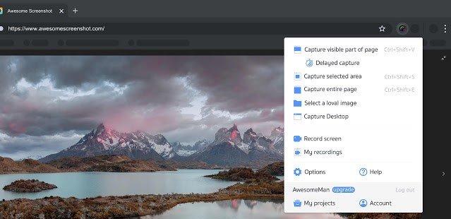 Awesome Screenshot: Screen Video Recorder