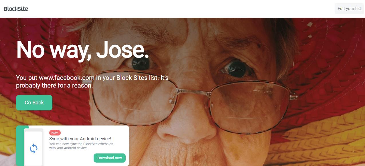 Block Site - Website Blocker for Chrome