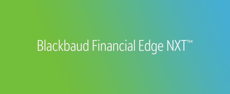 Financial Edge by Blackbaud